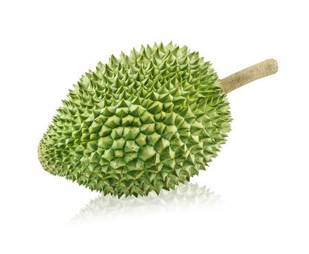 Durian: Vua của các loại trái cây, sầu riêng bị cô lập trên nền trắng Kho ảnh
