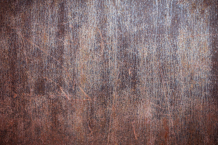 Background with Rust on steel Stock Photo