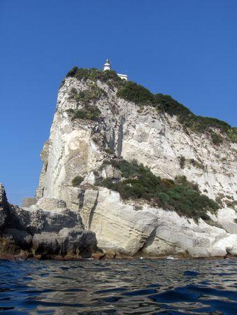 promontory: The lighthouse on Miseno promontory