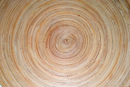high definition round wooden dish Stock Photo - 10028961