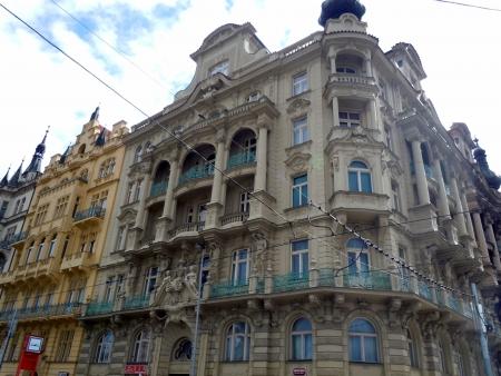 Vista urbano di Praga, Repubblica Ceca Archivio Fotografico