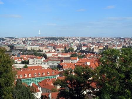 Veduta aerea di Praga, Repubblica Ceca