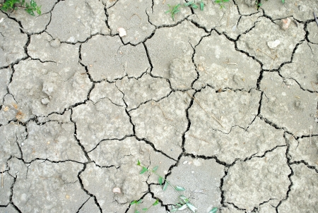 dullness: Dry soil as background, concept of drought and aridity