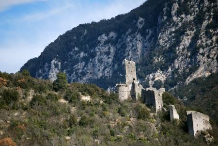 terni: The tower of Ferentillo, Terni, Umbria, Italy Stock Photo