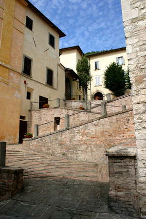 The city of Gubbio, Umbria photo