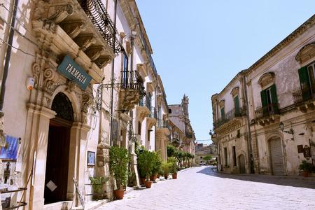 screenplay: Scicli, Sicily, Italy