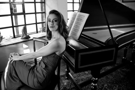 the soprano: The soprano Ashley Slater