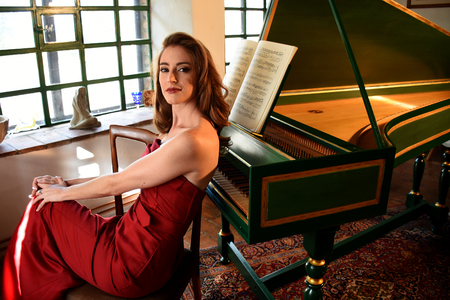 soprano: The soprano Aslhey Slater