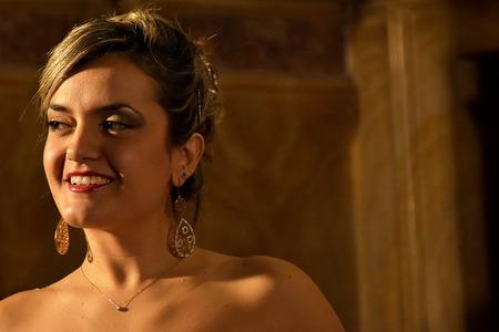 the soprano: La Traviata by Giuseppe Verdi, Soprano Fulvia Mastrobuono.