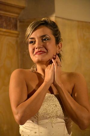 soprano: Soprano Fulvia Mastrobuono in Verdis La Traviata