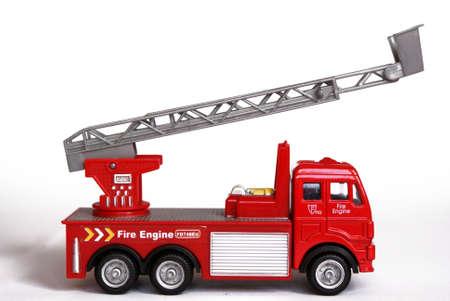 bombero de rojo: Juguete de autom�viles fuego departamento