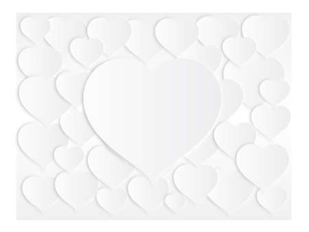 hearts background design Stock Vector - 19419346
