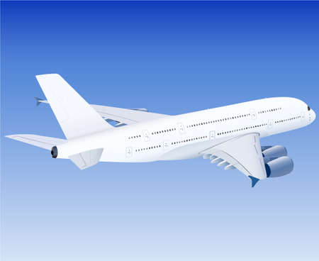 airplane, aeroplane, airplane illustration, vector airplane Illustration