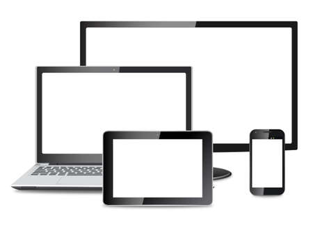 electronic devices: electronic devices vector - eps10 Illustration