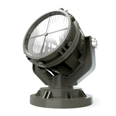 military antiaircraft searchlight