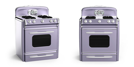 vintage stove 50s edition