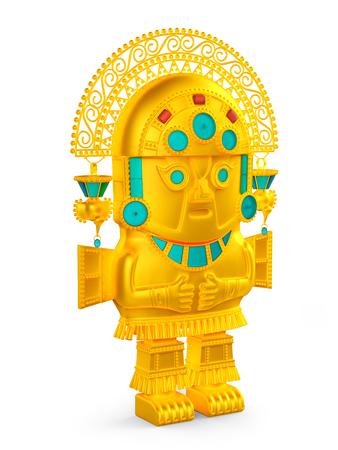 inca culture statuette Banque d'images