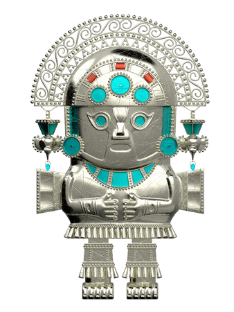 inca culture statuette Stock Photo