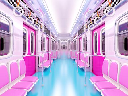 train cartoon interior
