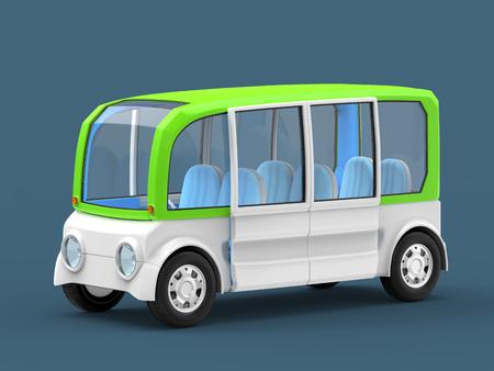 van futuristic concept Stock Photo - 119425913