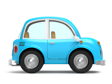 car small cartoon side 免版税图像