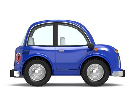 car small cartoon side Imagens