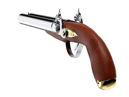 howdah hunter pistol old 3d