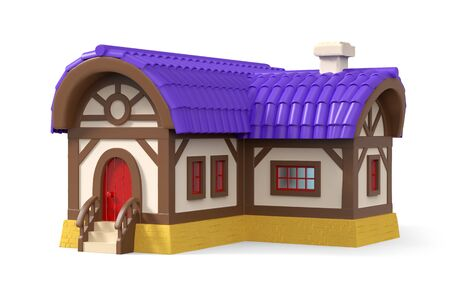 fantasy house cartoon 3d Zdjęcie Seryjne - 136510320