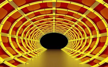 tunnel abstract fantasy Zdjęcie Seryjne - 136510353