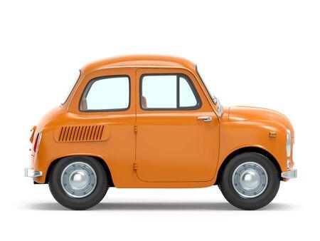 Auto Retro kleine Cartoon Haufen Seite