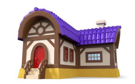 fantasy house cartoon 3d Zdjęcie Seryjne