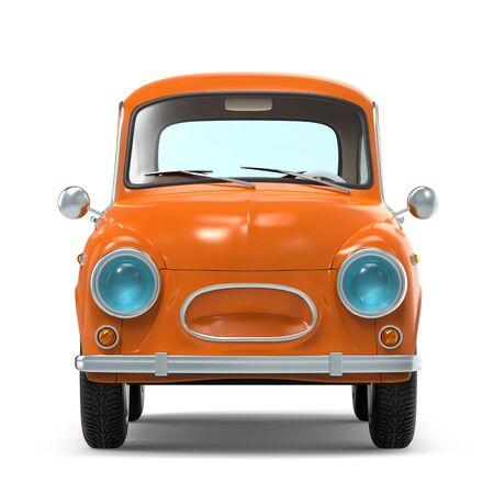 car retro small cartoon bunchy front