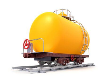 railroad tank car cartoon Zdjęcie Seryjne