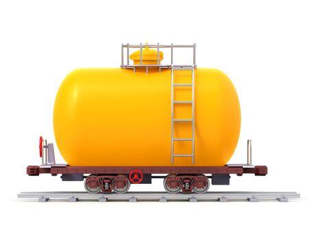 railroad tank car cartoon side