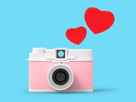 photo camera vintage cute Zdjęcie Seryjne