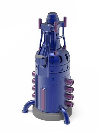 tower futuristic industrial Zdjęcie Seryjne