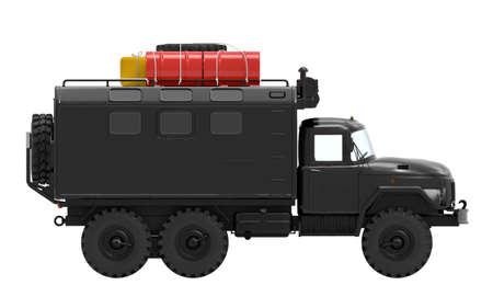 truck off-road military apocalypse side Zdjęcie Seryjne