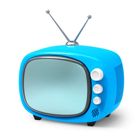 old tv cartoon 3d