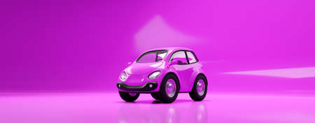 car electric small pink