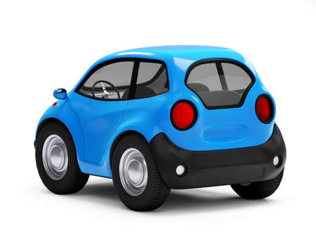 car electric small back