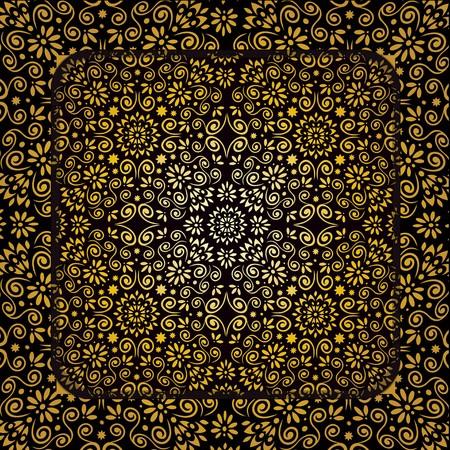 gold ornament design
