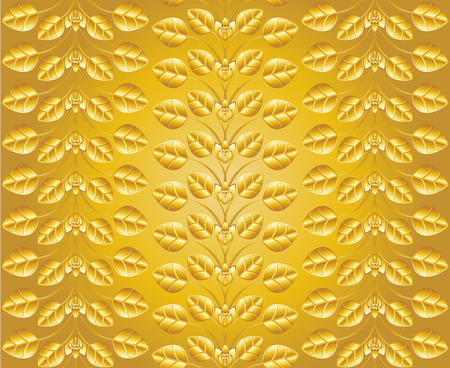 Gold ornament background