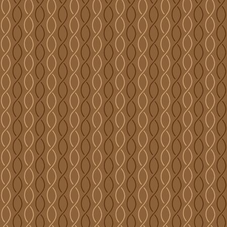 broun: Seamless pattern broun waves on brown background Illustration