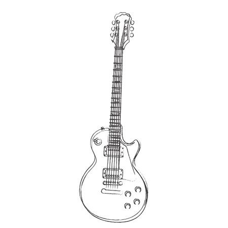 Play guitar Illusztráció