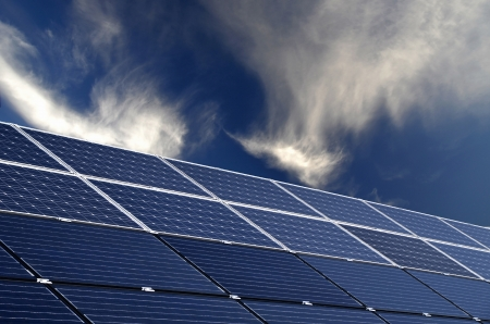 photovoltaic solar modules for producing electricity photo
