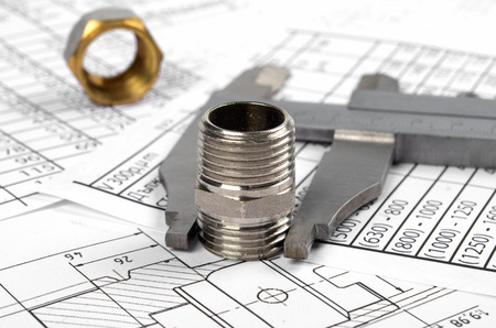 calipers, Plumbing Fittings, Flanges, Nuts