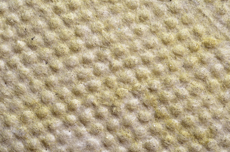 Thermal insulation  -mineral wool background   photo
