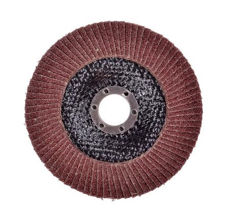 Abrasive disk for metal grinding  photo
