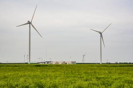 Scenery of wind power generation Yeonggwang-gun, Jeollanam-do