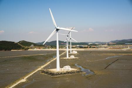 Ansan, Gyeonggi-do, Daebudo Wind Power Generation and foreshore
